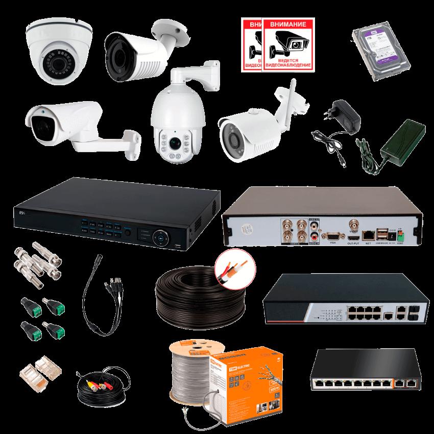Поставка оборудования видеонаблюдения Белгород